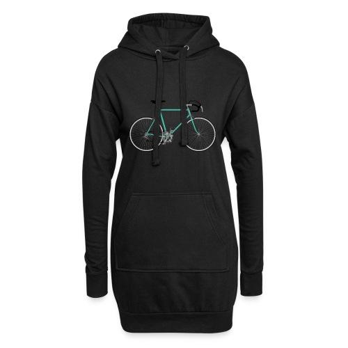 Rennrad für Hipster - Hoodie-Kleid