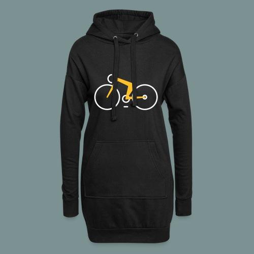 Bikes against cancer - Hoodie-kjole