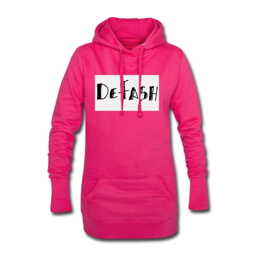 Defash1-png - Sweat-shirt à capuche long Femme