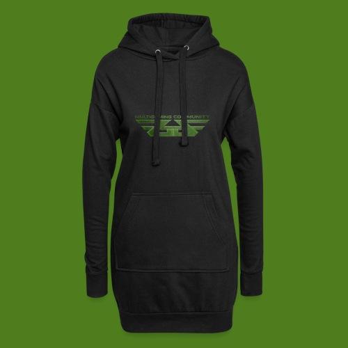 ZoGGaZ Fanshirt Logo groß - Hoodie-Kleid