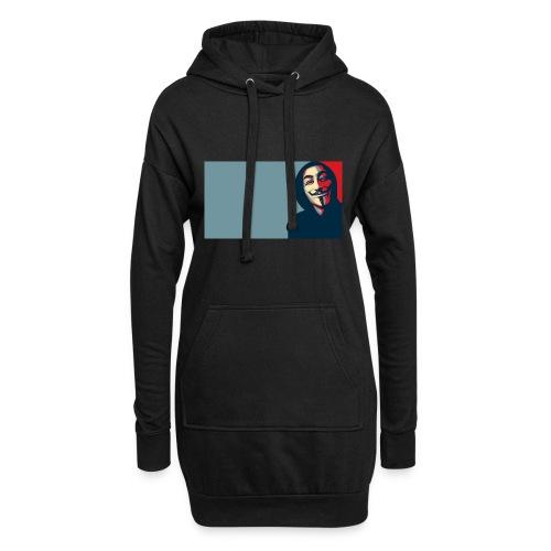 Anonymous - Sudadera vestido con capucha