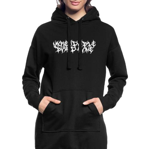 UNREADABLE BAND NAME - Hoodie Dress