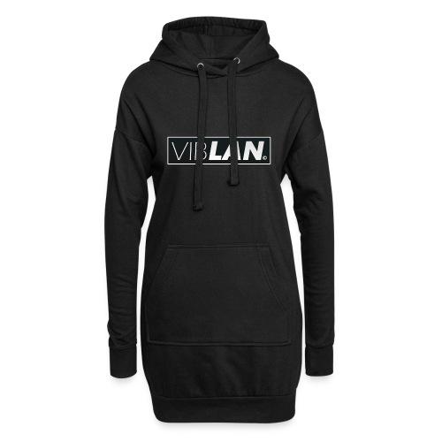 VibLAN_LOGO - Hoodie-kjole