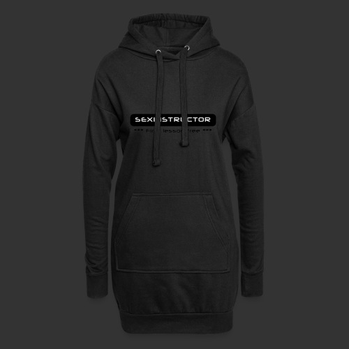 Sexinstructor - first lesson free - Hoodie-Kleid