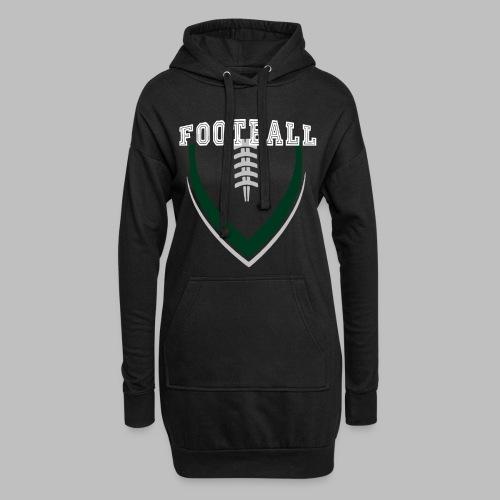 Football LOGO Ball American Football Geschenkidee - Hoodie-Kleid
