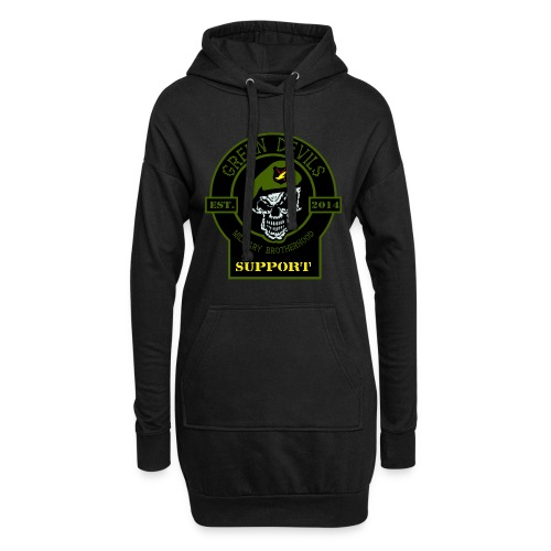 2019 Green Devils Military Brotherhood Support - Hoodie-Kleid