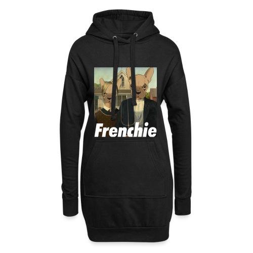 Canadian Frenchie - Sweat-shirt à capuche long Femme