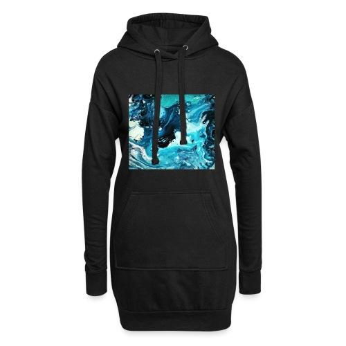 Ocean - Hoodie-Kleid