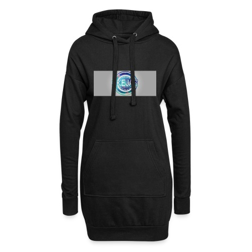 LOGO WITH BACKGROUND - Hoodie Dress