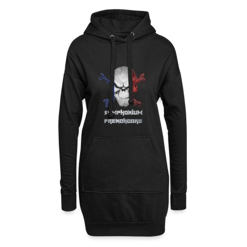 symphonium Frenchcore - Sweat-shirt à capuche long Femme