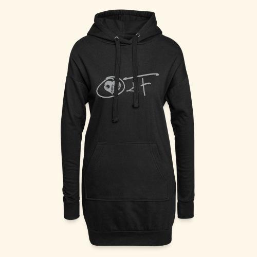 O4F GRIGIO - Vestitino con cappuccio