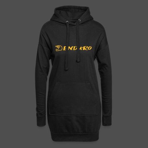 Enduro - Długa bluza z kapturem