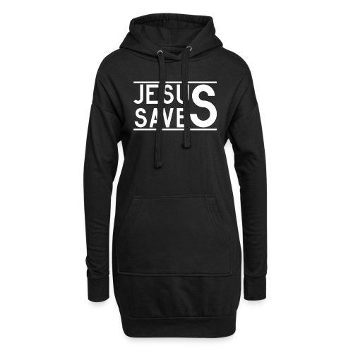 Jesus Saves - Hoodie-Kleid