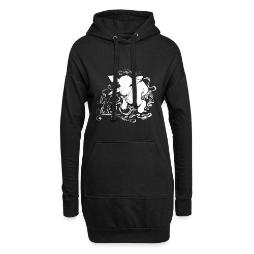 My Life Matters go vegan - Hoodie Dress