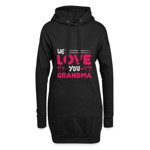 WE LOVE YOU GRANDMA new birthday gift idea - Luvklänning