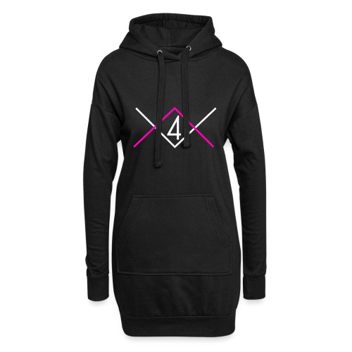 4BLACK Hoodies - Hoodie Dress