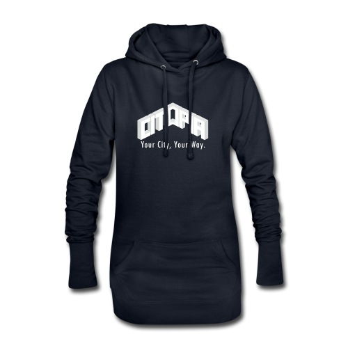 Logo with Slogan - Hoodie Dress