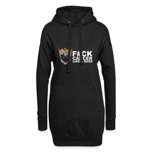 F#ck Cancer - Hoodie Dress