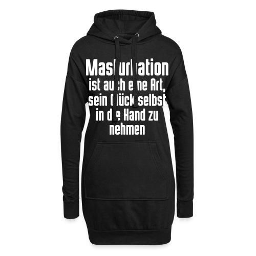 Masturbation sein Glück in der Hand - Hoodie-Kleid