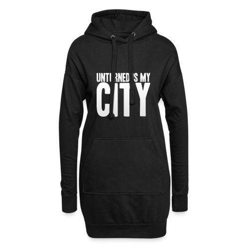 Unturned is my city - Hoodie Dress