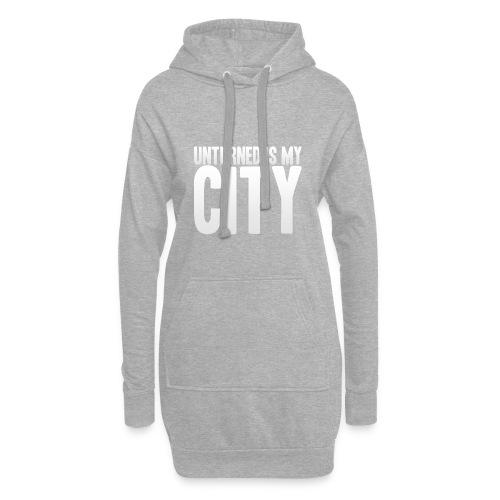 Unturned is my city - Hoodie Dress