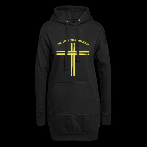 True Religion - Hoodie-Kleid