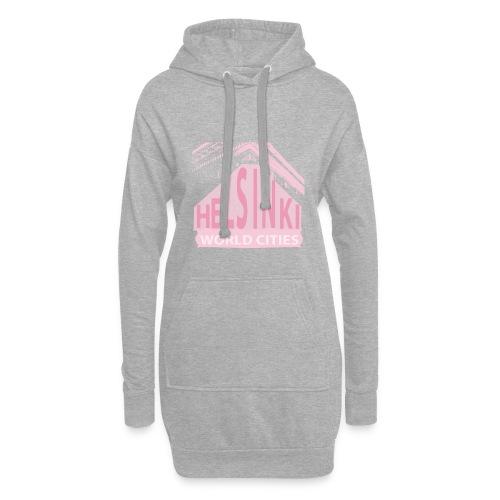 Helsinki light pink - Hoodie Dress