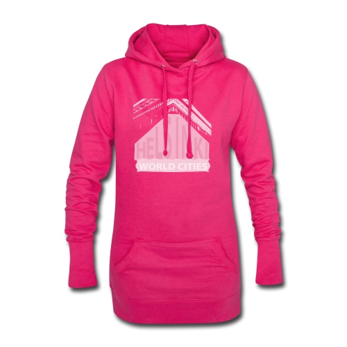 Helsinki light pink - Hoodie Dress