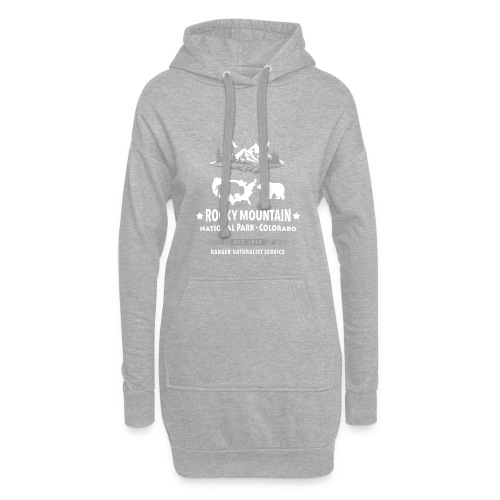Rocky Mountain Nationalpark Berg Bison Grizzly Bär - Hoodie Dress