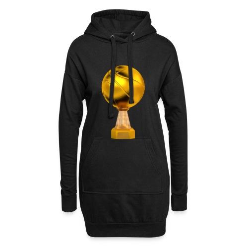 Basketball Golden Trophy - Sweat-shirt à capuche long Femme