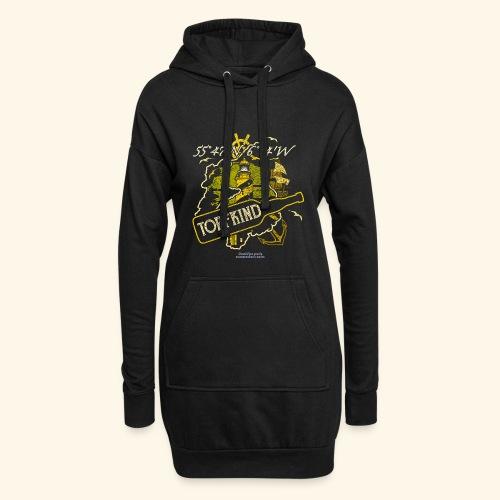 Whisky T Shirt Design Islay Single Malt Peat Torf - Hoodie-Kleid