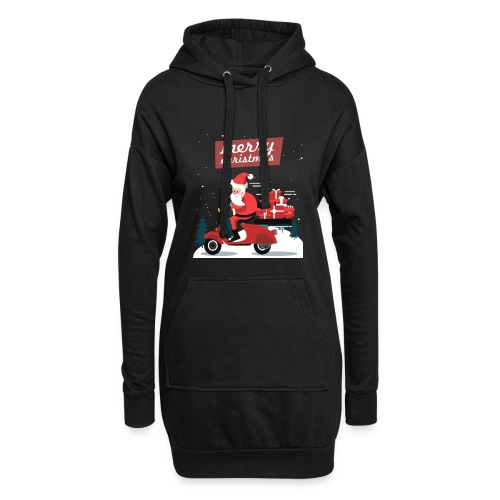 Gift 04 - Sweat-shirt à capuche long Femme