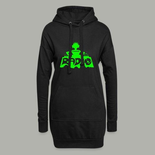 DJ Producer T-Shirt E-Rocker - Hoodie-Kleid