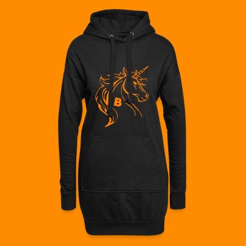 orange biodusty unicorn shirt - Hoodiejurk