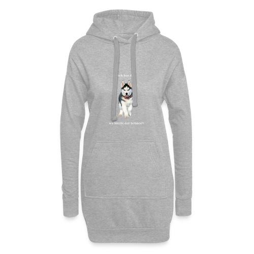 Husky Welpen mit bezaubernden Augen - Hoodie-Kleid