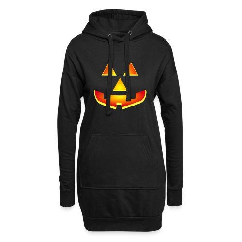 Smiling pumpkin - T Shirt, Halloween, Scary Face - Hoodie Dress
