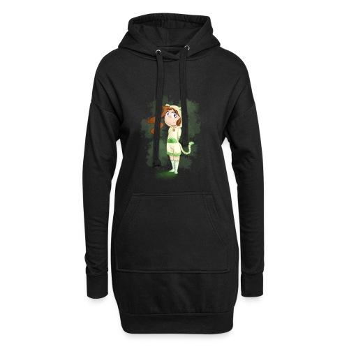 CatMad - Sweat-shirt à capuche long Femme
