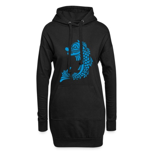 grenoble dauphin - Sweat-shirt à capuche long Femme