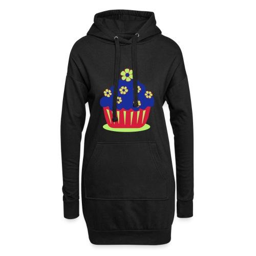 Blumencupcake - Hoodie-Kleid