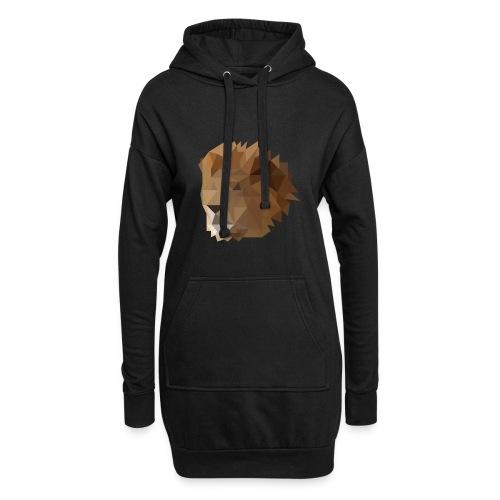Löwe - Hoodie-Kleid
