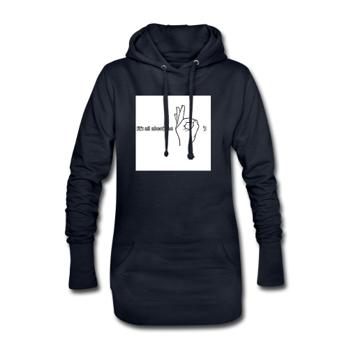 All about the - Hoodie Dress