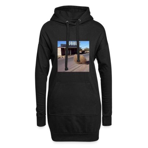 NOTHING - Sweat-shirt à capuche long Femme