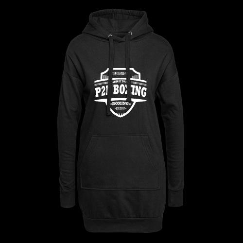 P2P Boxing White Logo - Hoodie Dress