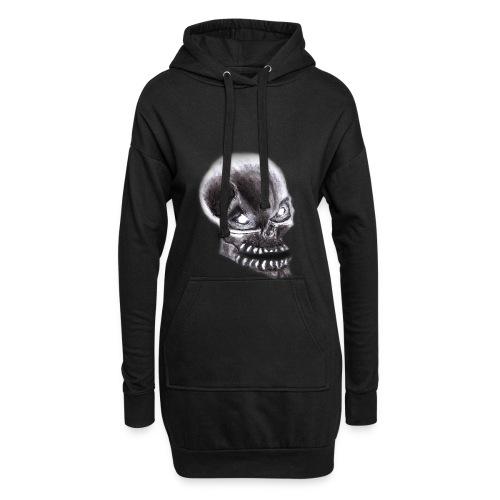 Angry skull - Hoodie-Kleid