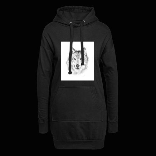 Wolf - Hoodie-kjole