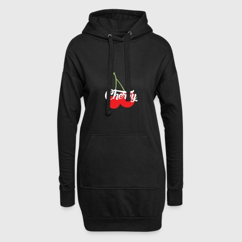 Cherry - Sweat-shirt à capuche long Femme