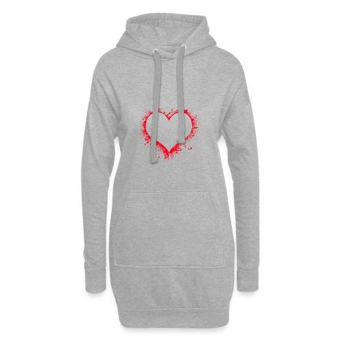 heart 2402086 - Vestitino con cappuccio