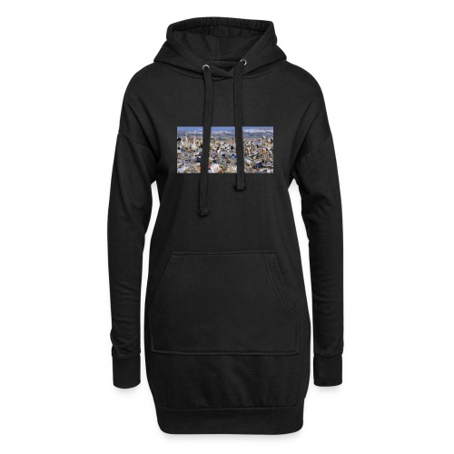 IMG 5629 - Sweat-shirt à capuche long Femme