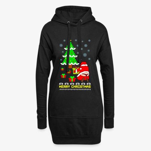 Merry Christmas Santa Tanga Ugly Xmas - Hoodie-Kleid