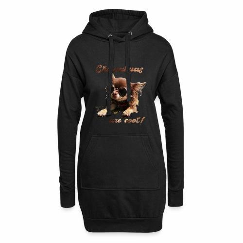 Chihuahua T-Shirts Chihuahuas are cool - Hoodie-Kleid